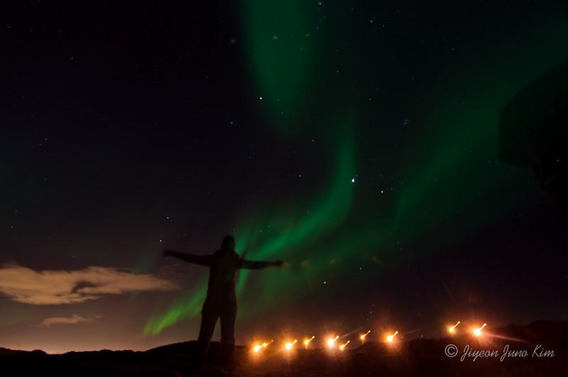 Aurora Borealis in Iceland (Northern lights)