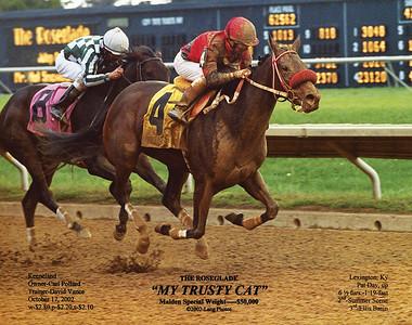 MY TRUSTY CAT - 10/17/2002
