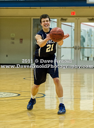 12/8/2011 - Boys Varsity Basketball - Nobles