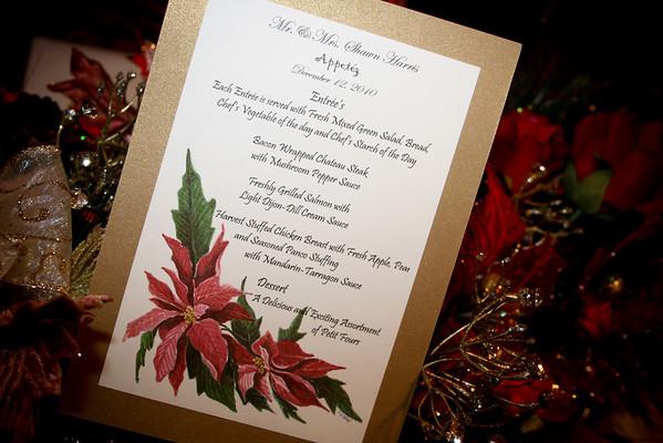 Harris Wedding December 12, 2010