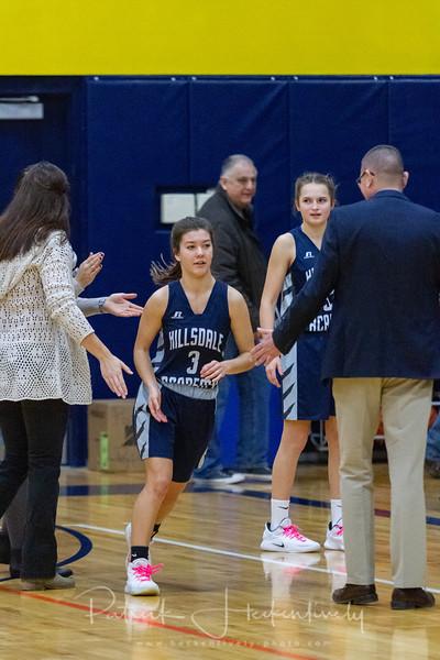 2018-12-27 Hillsdale Academy Girl's Varsity Basketball vs. North Adams