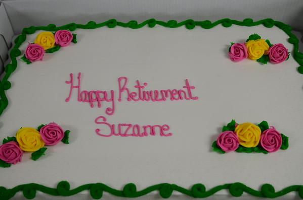 Suzanne Grant (Quartermaster) Retires