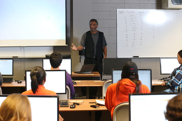 Richard Anderson Psychology Computer Lab