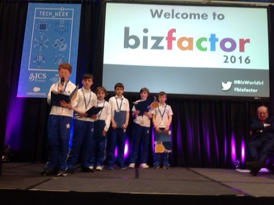 Bizworld Final at RDS