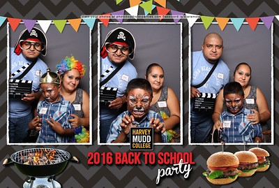 Harvey Mudd College 2016 Back to School Party