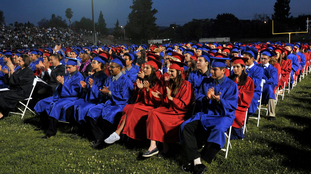 . Los Altos High School\'s 53 Commencement Ceremonies held in the Patrick Mauch Memorial Stadium, Tuesday, May 21, 2013.  (Correspondent photo/Mike Mullen)