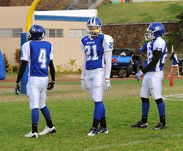 """08-21-10 Moanalua Varsity """"vs"""" Castle Knights (22-18)"""