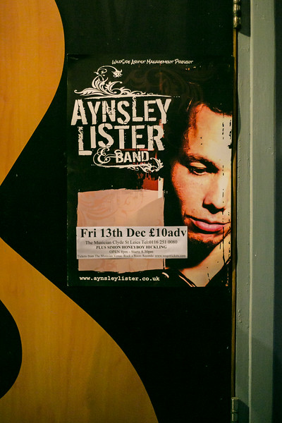 Aynsley Lister @ The Musician Dec 2013