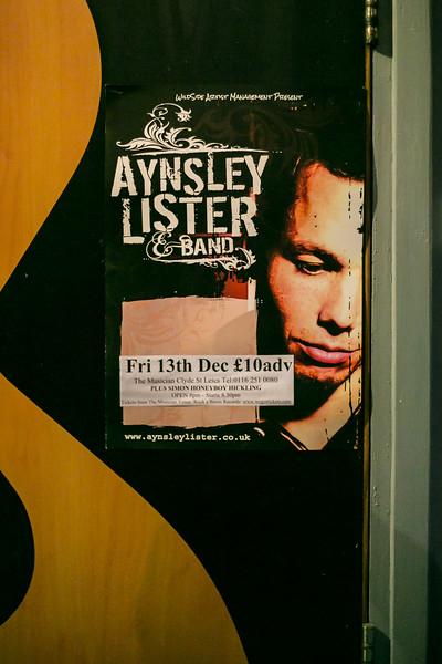 Aynsley Lister @ The Musician Dec 2013