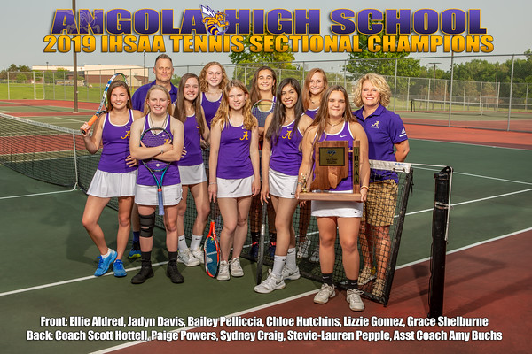 2019 Girls Tennis Sectional