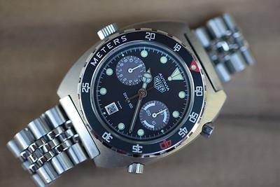 Heuer Autavia 11063 Diver 100
