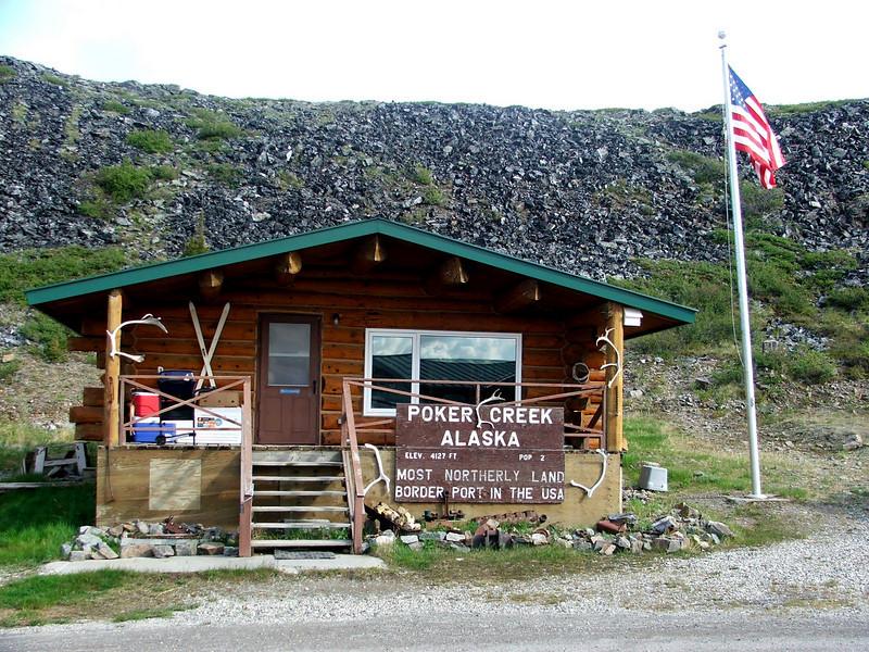 Poker Creek Border Crossing, AK