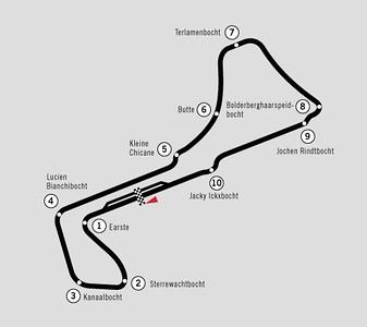 Racefiets toer - Circuit Zolder