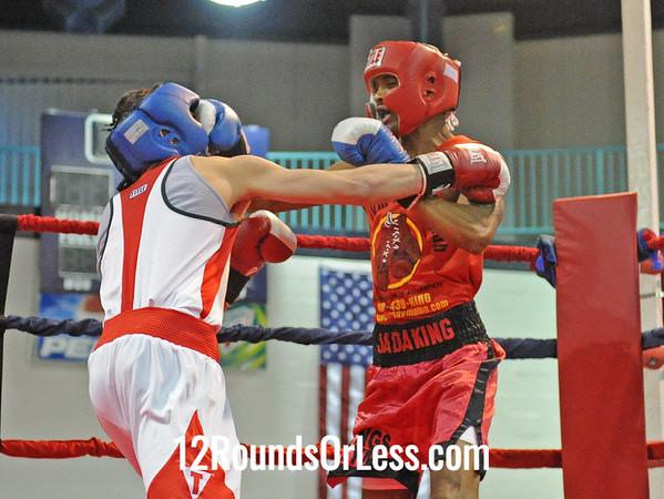 Elhan Vevzadi (SABA) vs Jeremy Abram (Kings Gym B.C.)  132 Pound-Novice  Bout # 3
