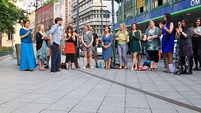 Budapest - Lalala choir on tour