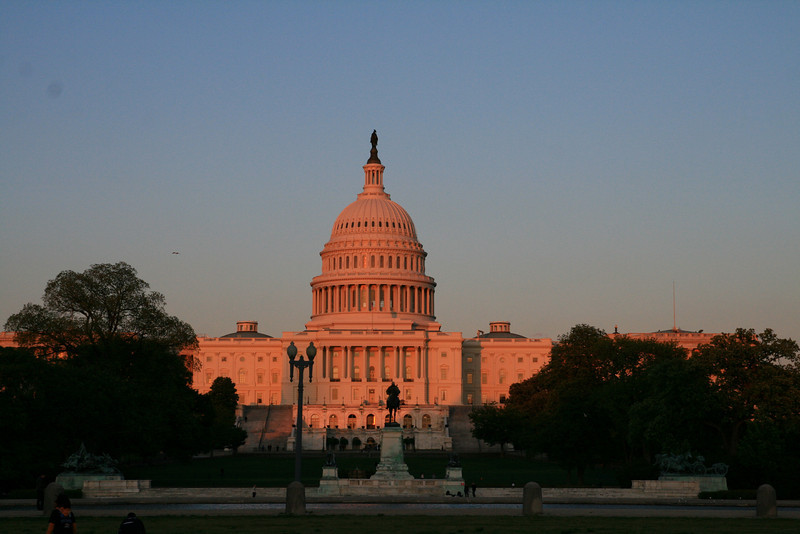 Sunset on the Capitol