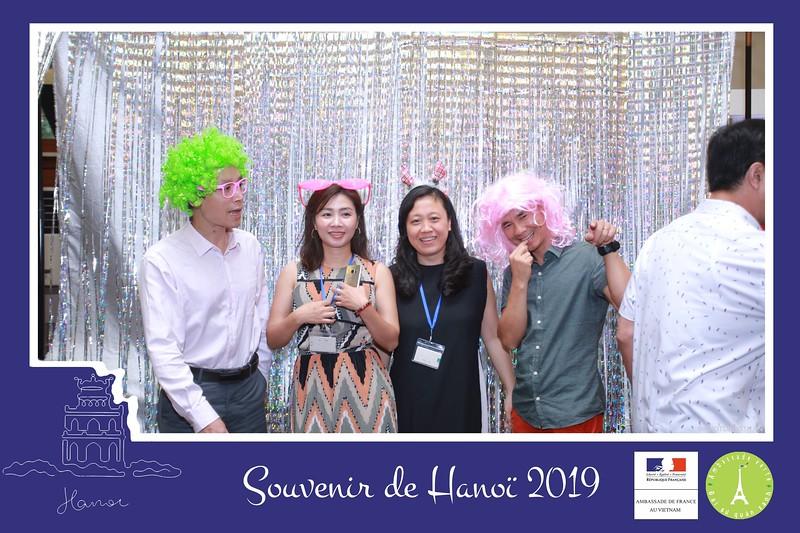 Ambassade de France - Souvenir de Hanoi impression instantanée photobooth - in ảnh lấy ngay tại Đại sứ quán Pháp