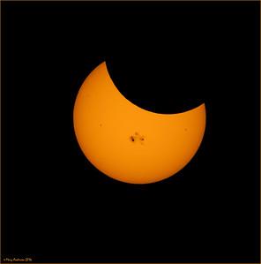 Partial SolarEclipse 10/23/14