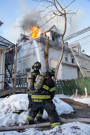 Passaic NJ 3rd Alarm, 15 Meade Ave. 01-30-13