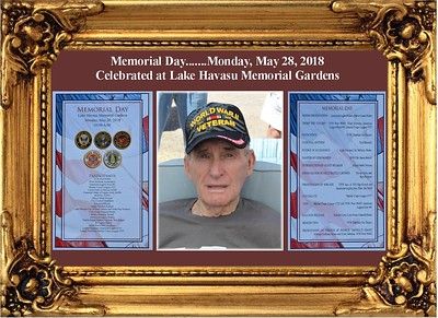 5-29-18 Memorial Day Ceremony