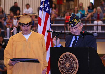 Cherokee High School Graduation 5-27-17
