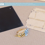 SKU:  F-PLATE/BOARD/2021, Mounting Plates with Hex Brass Standoff Pillars for Motherboard and Carriage Board of Epson XP600 FastCOLOUR ONE Printer 2021 Model