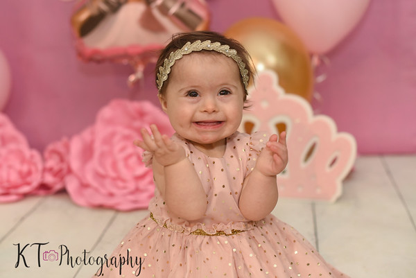 Abigail Marie Daniel - First Birthday