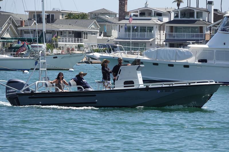 Boating in Balboa Island