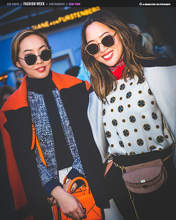 Best In Style: Street Fashion @ New York Fashion Week #AW16 by EDO Photography