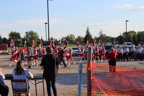 19' Cardinal Band Show on New FIeld