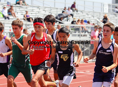 Boys Foothill League Prelims 4/30/2013