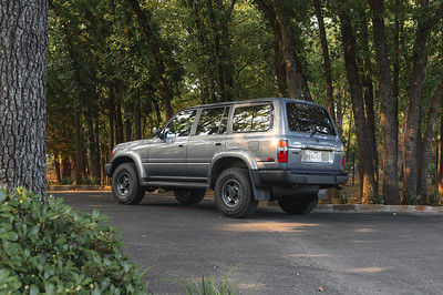 Mike's 1997 Toyota Land Cruiser