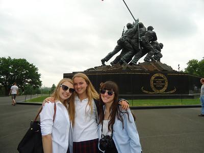 8th Grade visits Washington DC.