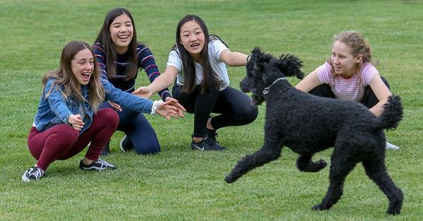 Saskia and friends