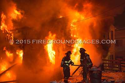 Mount Pleasant St. Fire (Derby, CT) 1/26/15