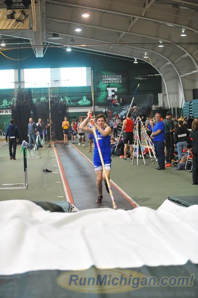 Boys' Pole Vault (d1) - 2014 Huron Relays