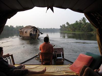 Kerala houseboats, Alappuzha