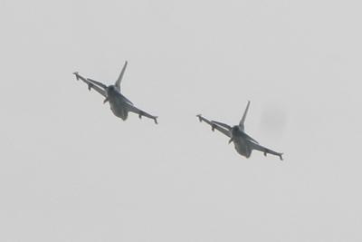 John Memorial Day Flyover F-16