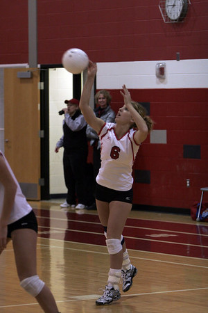 Girls Varsity Volleyball - 2006-2007 - 2/24/2007 Conference TriCounty