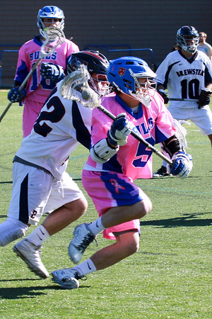 Boys' Varsity Lacrosse vs Brewster | Apr 23rd