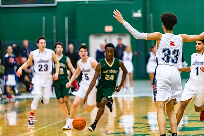 2019-03-05 Basketball Varsity - Pats vs Viator - Sectionals