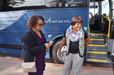 Freedom Riders visit Austin, Texas