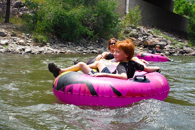 Tubing Clear Creek