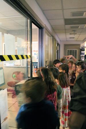 1st Grade NBC 29 Studio Visit