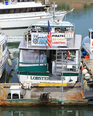Aboard Plymouth Cruises Lobster Tales  6/16/15