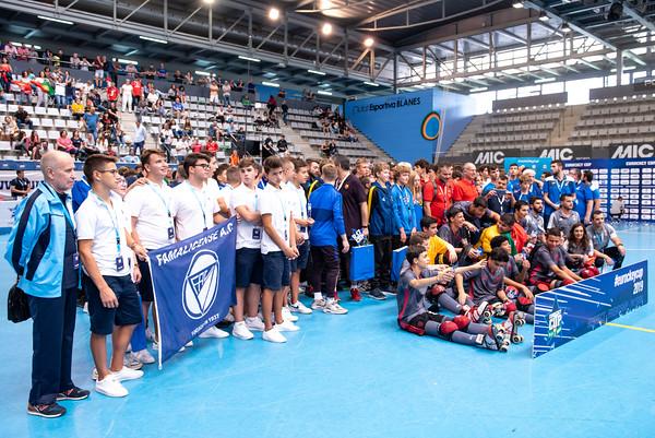 U17 Eurockey Cup 2019 Awarding Ceremony