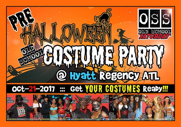 Oct.21.2017 OSS @ Hyatt ****Pre-Halloween Costume Party**** ::: ATL, GA, USA