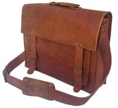 Komal's Passion Leather Briefcase