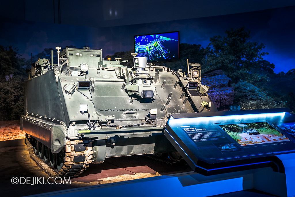 Defence Technology Community 50th Anniversary - SG Defence Exhibition 2016 / Unmanned Ground
