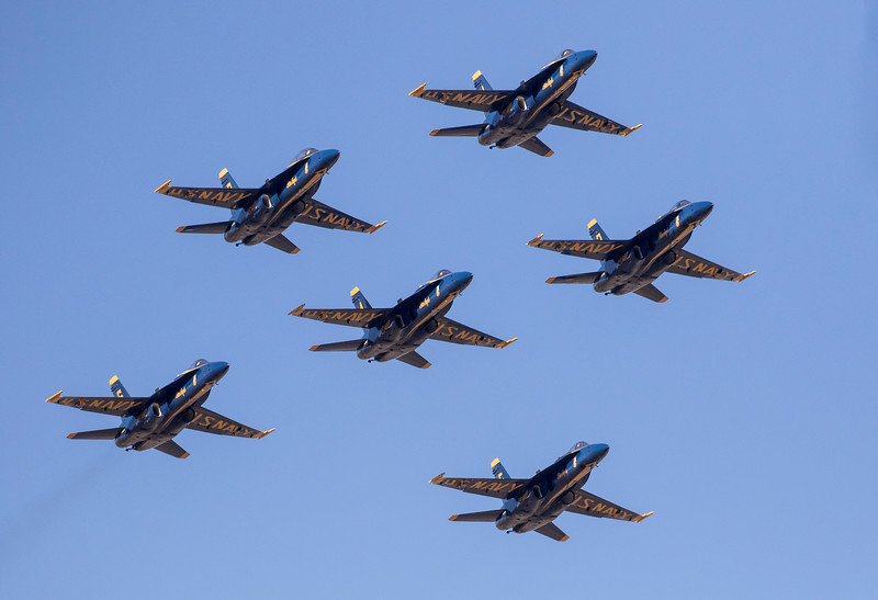 U. S. Navy Blue Angels - Minden, Nevada 2018